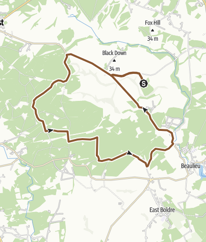 Map / Ferny Crofts Forrage