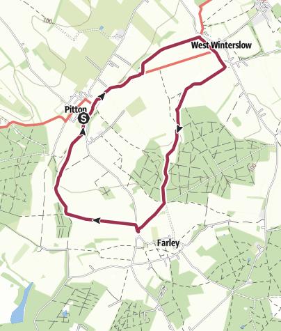 Map / Around Pitton