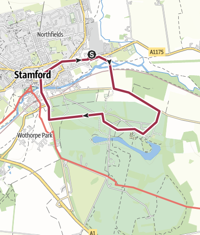 Map / 39: Stamford and Burghley Park
