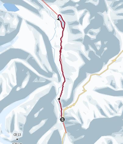 Karte / Von Batal zum Chandra Tal Lake