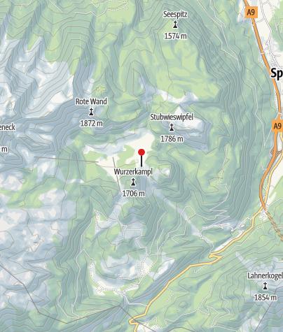 Karte / Wurzeralmgebiet ~1420m