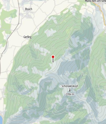Karte / Gerlinger Alm (1690 m)