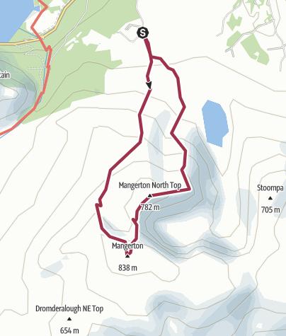 Map / Mangerton
