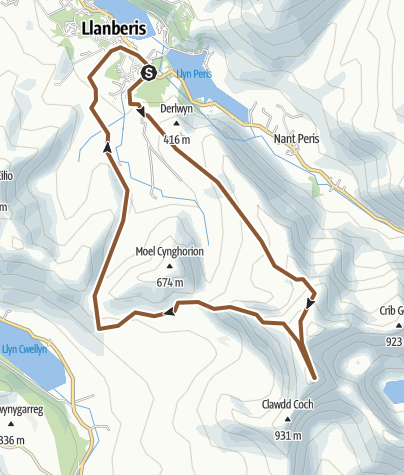 Map / Snowdon Route