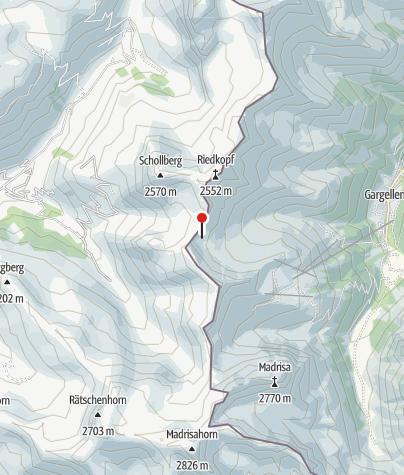 Karte / St. Antönier Joch