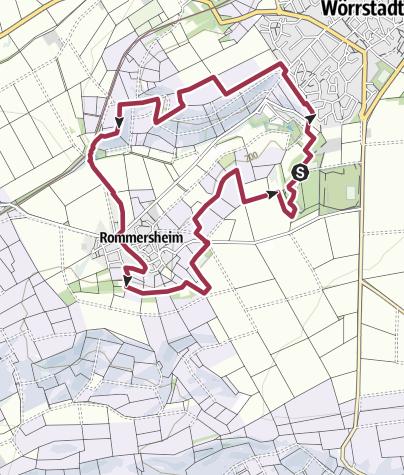 Karte / Hiwweltour Neuborn