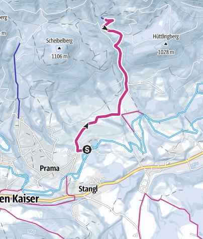 Karte / Graspoint-Niederalm