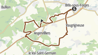 Map / Briis - Angervilliers