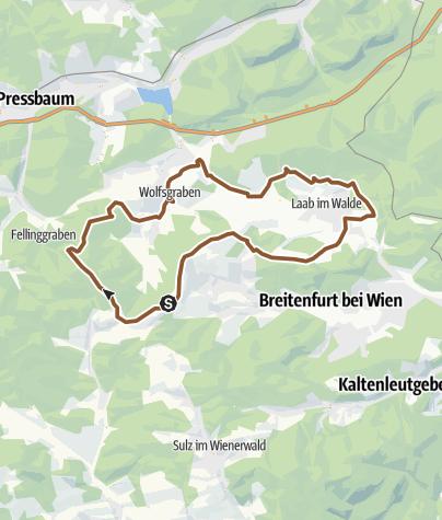 Map / Laab-Drei.Berge-Wolfsgraben