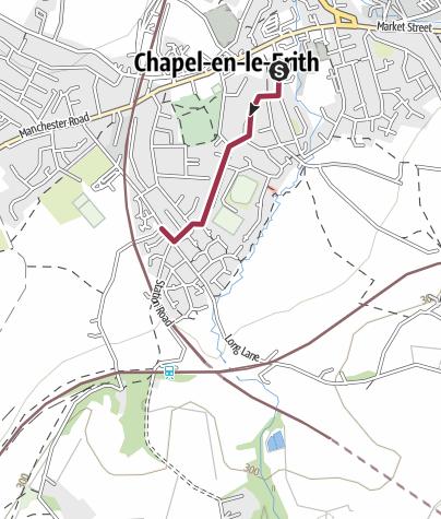 Map / Chapel-en-le-Frith - Roads