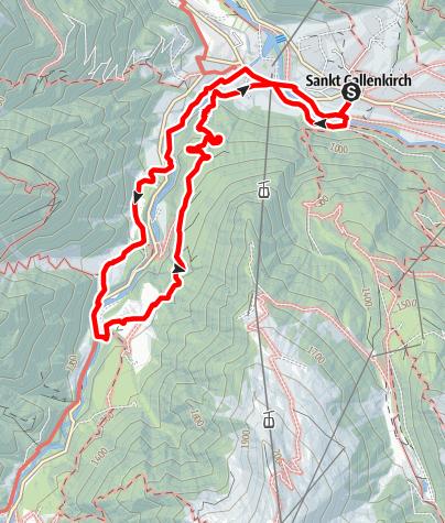 Karte / In Rüti auf den Spuren der Montafoner Steinschafe
