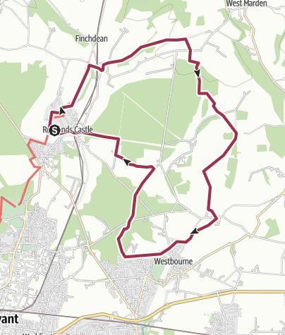 Map / Rowland's Castle Circular 11mile