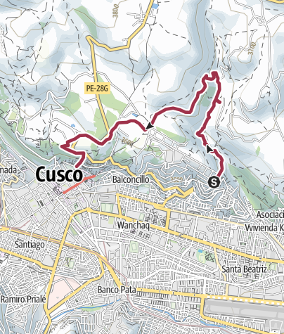 Map / Hike around Cusco