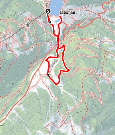 Karte / Alte Säge Latschau mit Kräuterwanderung