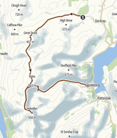 Map / Helvellyn MTB