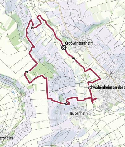 Karte / Hiwweltour Westerberg