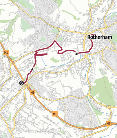 Map / Meadowhall-Rotherham