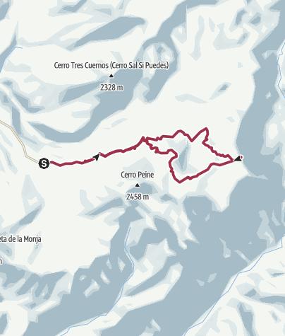 Karte / Enladrillado Trail