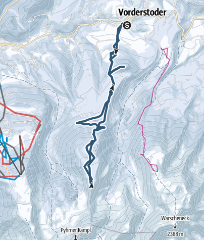 Karte / Wilde Süd, Vorderstoder O.Ö.
