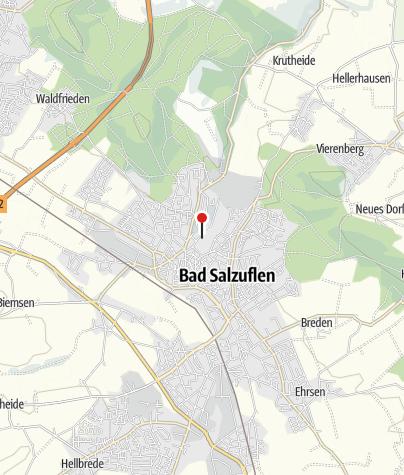 Kaart / Kur- und Stadttheater Bad Salzuflen