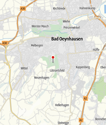 Map / Wasserkrater, Bad Oeynhausen - Löhne