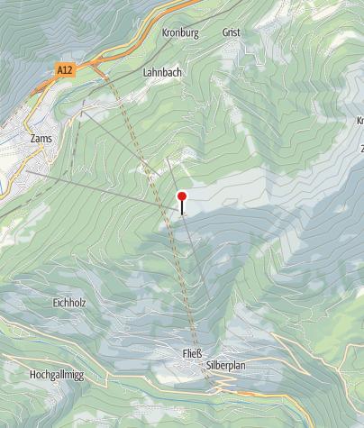 Map / Venet Gipfelhütte