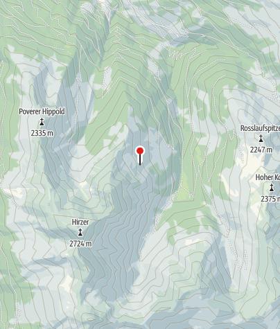 Karte / Weertal-Hütte