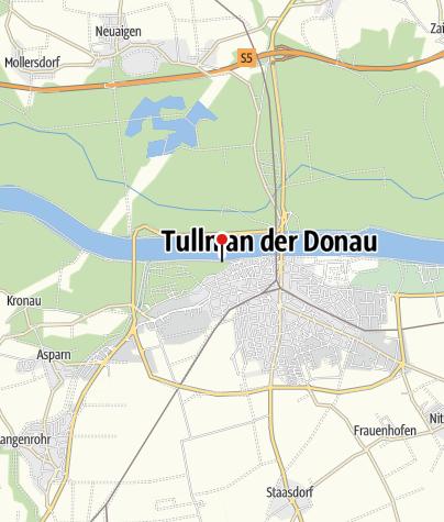 Karte / Alpenvereinshaus Donaulände