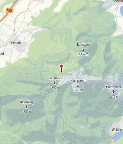 Karte / Bärenfleckhütte