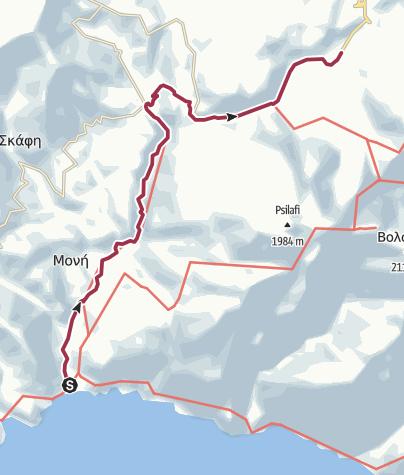 Map / Sougia - Omalos