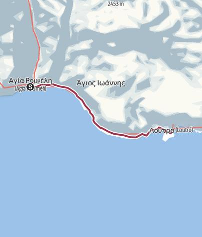 Map / Agia Roumeli - Loutro