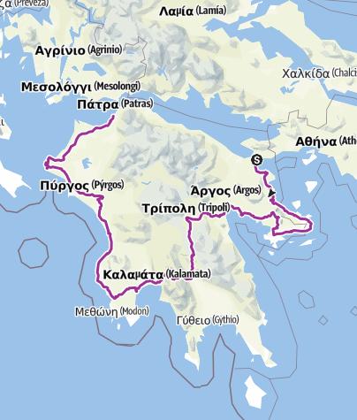 Map / --Isthmía-- OR-4679868:PeloponeseDef