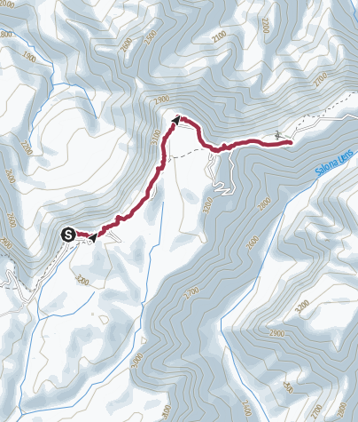 Mappa / Route from Simien Mts 1