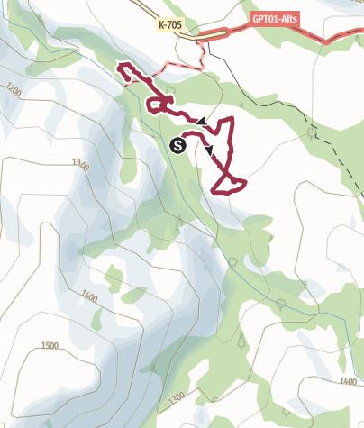 Karte / Laguna de los Patos