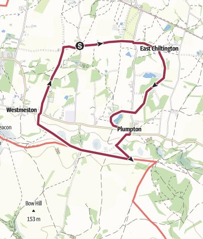 Map / Street Plumpton Circular