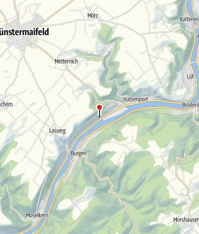 Karte / Mosel-Panoramaweg