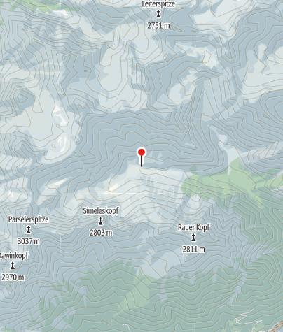 "Cartina / Rifugio ""Oberlochalm"""