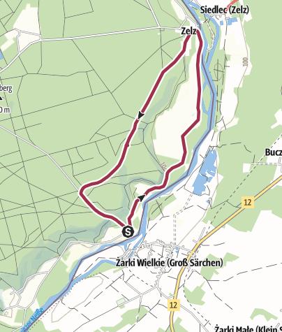 Karte / Durch den Märchenwald