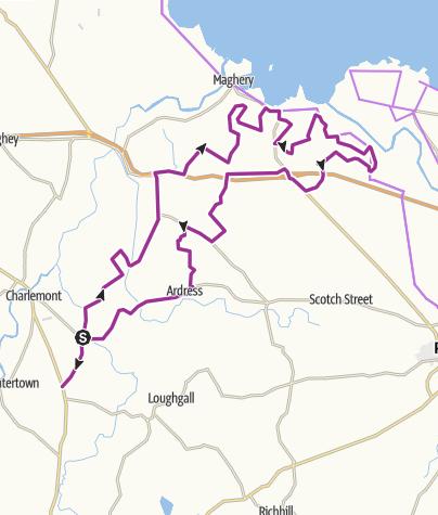 Map / Loughshore lanes