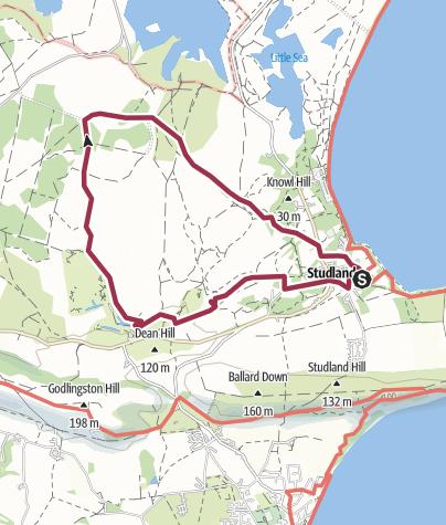 Map / Studland and Godlingston Heath
