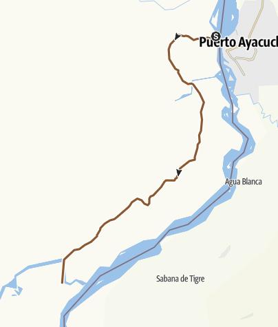 Map / Casuarito - Tuparro Ruta 1