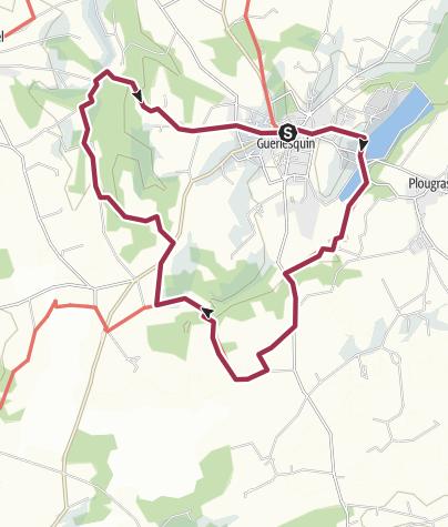 Map / 17 Guerlesquin