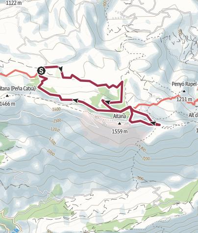 Map / 8 Cumbre de Aitana