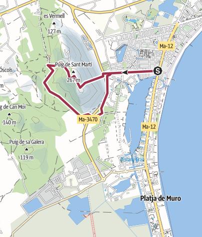 Map / 41 Puig Sant Marti