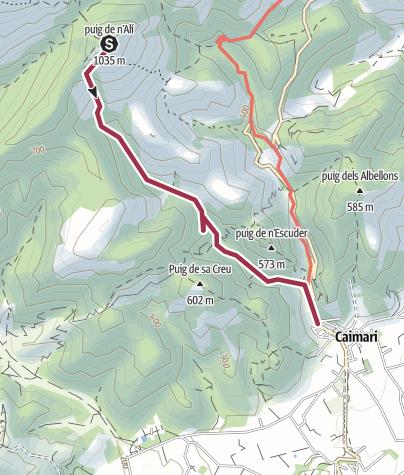 Map / 46 Puig de n'Ali