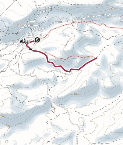Map / 9 Alajar Los Madrones