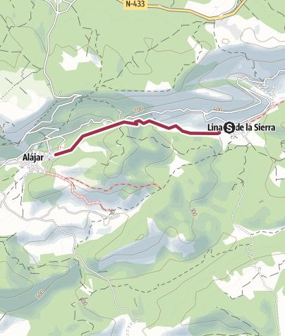 Map / 10 Linareas Alajar Steep