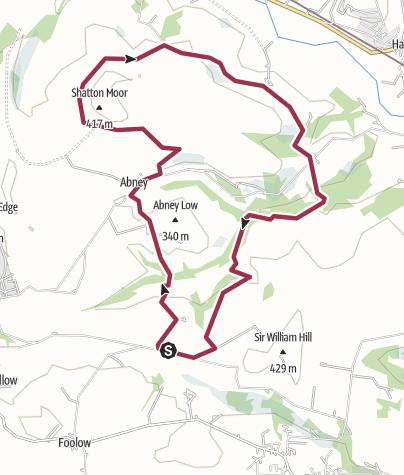 Map / Bretton - Shatton