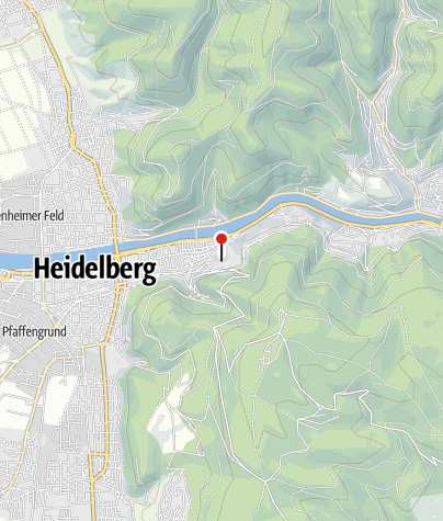 Karte / Heidelberger Schloss