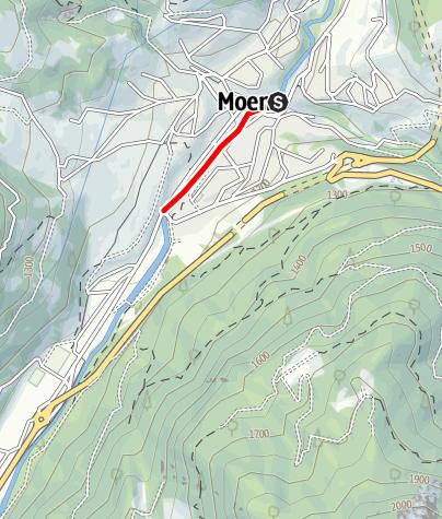 Mapa / Torrente Avisio, ZT